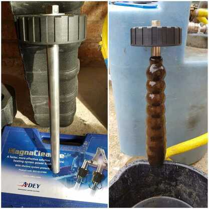 Magnacleanse - before and after